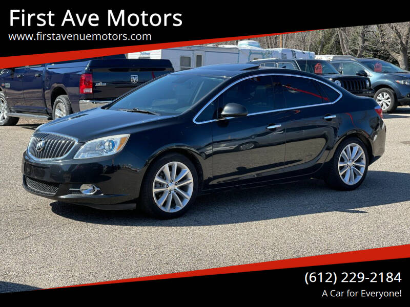 2013 Buick Verano for sale at First Ave Motors in Shakopee MN