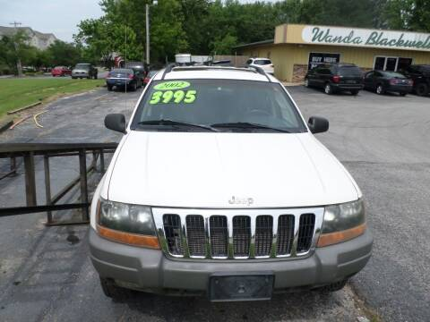 2002 Jeep Grand Cherokee for sale at Credit Cars of NWA in Bentonville AR