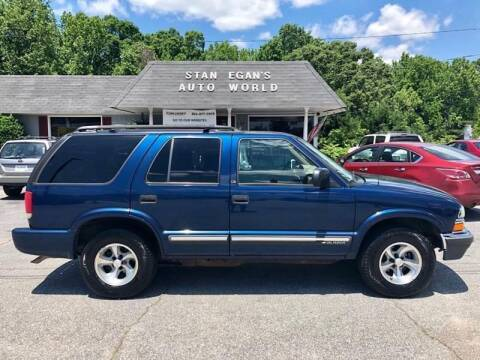 2000 Chevrolet Blazer for sale at STAN EGAN'S AUTO WORLD, INC. in Greer SC