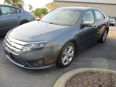 2012 Ford Fusion for sale at Creech Auto Sales in Garner NC