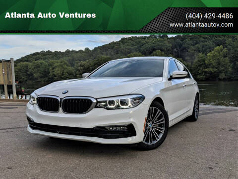 2018 BMW 5 Series for sale at Atlanta Auto Ventures in Roswell GA