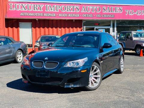 2009 BMW M5 for sale at LUXURY IMPORTS AUTO SALES INC in North Branch MN