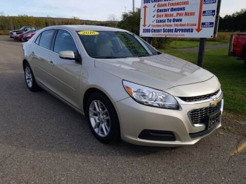 2016 Chevrolet Malibu Limited for sale at Sensible Sales & Leasing in Fredonia NY
