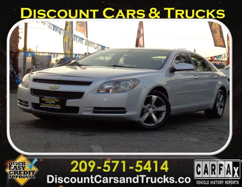 2012 Chevrolet Malibu for sale at Discount Cars & Trucks in Modesto CA