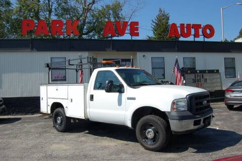 2006 Ford F-250 Super Duty for sale at Park Ave Auto Inc. in Worcester MA