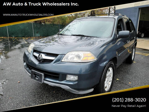 2005 Acura MDX for sale at AW Auto & Truck Wholesalers  Inc. in Hasbrouck Heights NJ