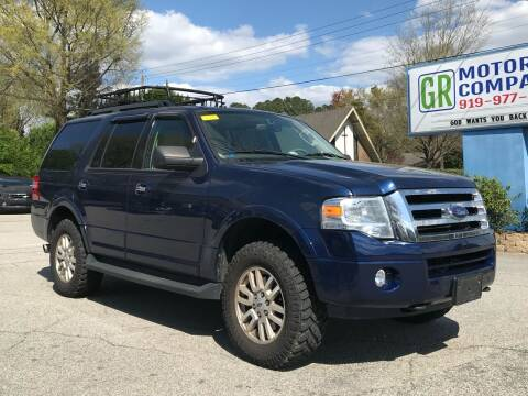 2011 Ford Expedition for sale at GR Motor Company in Garner NC