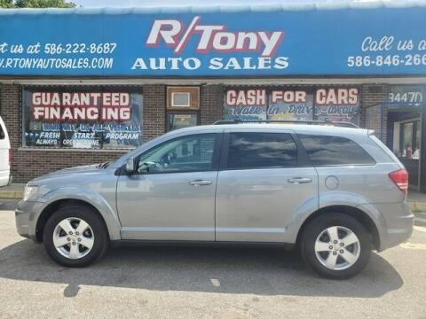 2010 Dodge Journey for sale at R Tony Auto Sales in Clinton Township MI