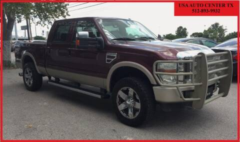 2010 Ford F-250 Super Duty for sale at USA AUTO CENTER in Austin TX