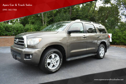 2013 Toyota Sequoia for sale at Apex Car & Truck Sales in Apex NC