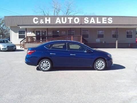 2019 Nissan Sentra for sale at C & H AUTO SALES WITH RICARDO ZAMORA in Daleville AL