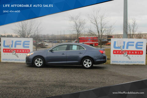 2013 Chevrolet Malibu for sale at LIFE AFFORDABLE AUTO SALES in Columbus OH