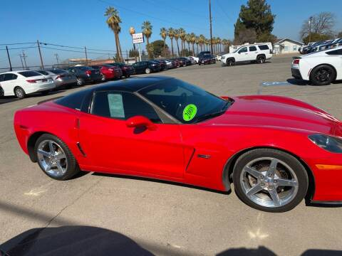 2008 Chevrolet Corvette for sale at First Choice Auto Sales in Bakersfield CA