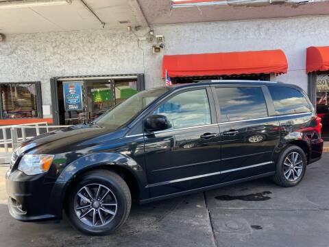 2017 Dodge Grand Caravan for sale at MATRIX AUTO SALES INC in Miami FL