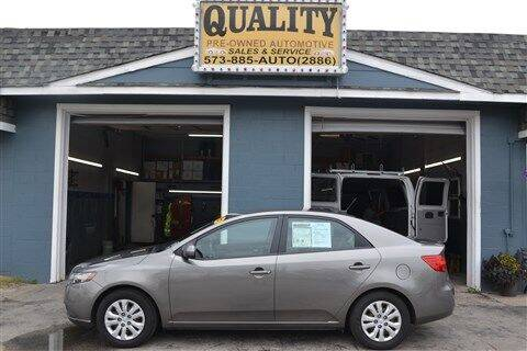 2012 Kia Forte for sale at Quality Pre-Owned Automotive in Cuba MO