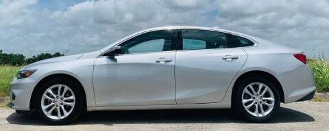 2018 Chevrolet Malibu for sale at Palmer Auto Sales in Rosenberg TX