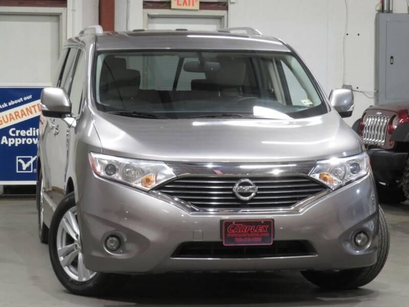 2012 Nissan Quest for sale at CarPlex in Manassas VA