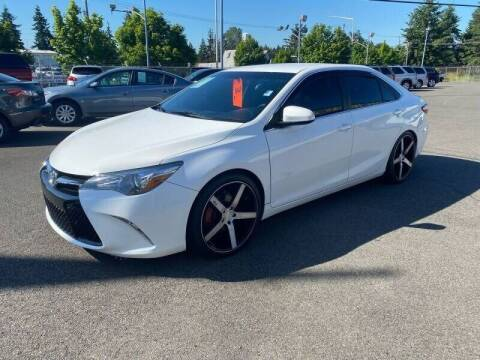 2016 Toyota Camry for sale at TacomaAutoLoans.com in Lakewood WA