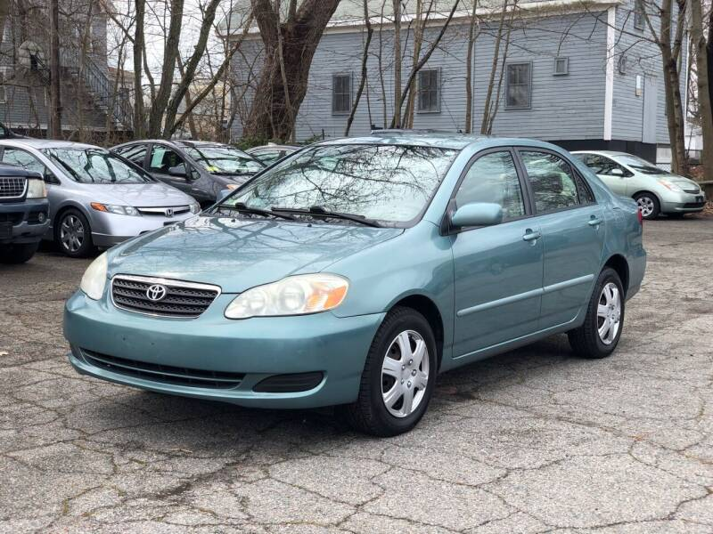 2006 Toyota Corolla for sale at Emory Street Auto Sales and Service in Attleboro MA