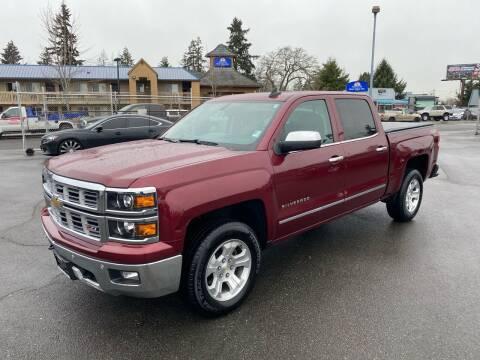 2015 Chevrolet Silverado 1500 for sale at Vista Auto Sales in Lakewood WA