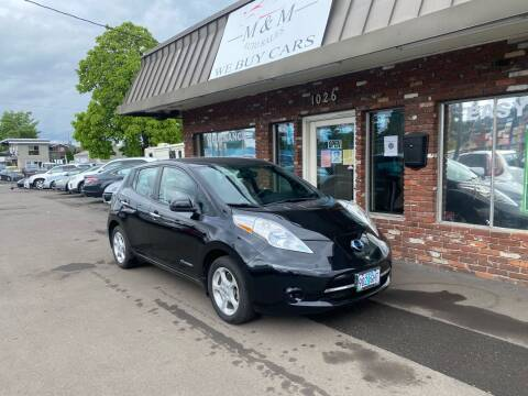 2013 Nissan LEAF for sale at M&M Auto Sales in Portland OR