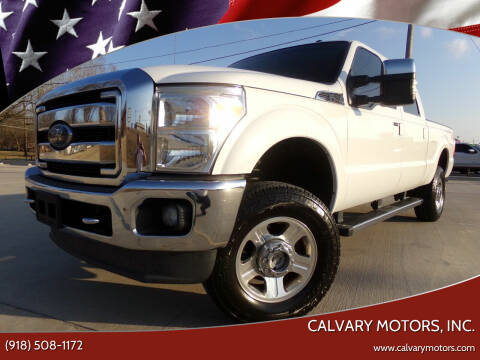 2012 Ford F-250 Super Duty for sale at Calvary Motors, Inc. in Bixby OK