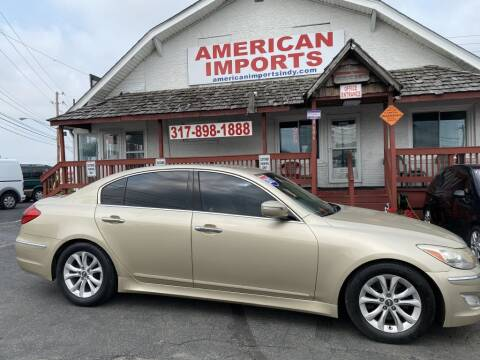2012 Hyundai Genesis for sale at American Imports INC in Indianapolis IN