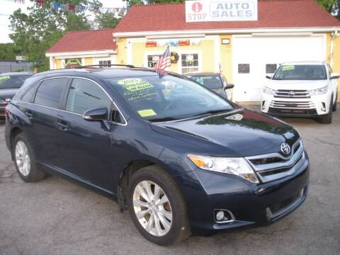 2015 Toyota Venza for sale at One Stop Auto Sales in North Attleboro MA