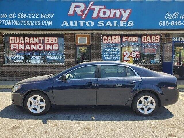 2010 Chevrolet Malibu for sale at R Tony Auto Sales in Clinton Township MI