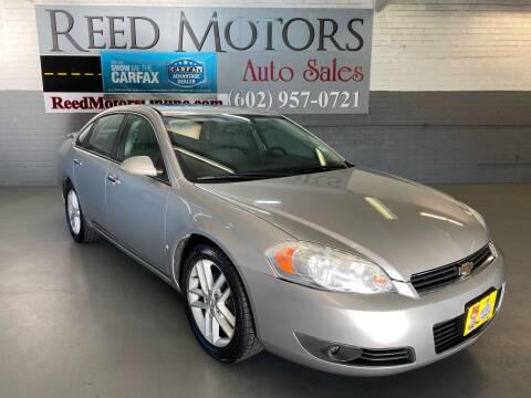 2008 Chevrolet Impala for sale at REED MOTORS LLC in Phoenix AZ