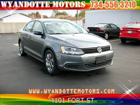2014 Volkswagen Jetta for sale at Wyandotte Motors in Wyandotte MI
