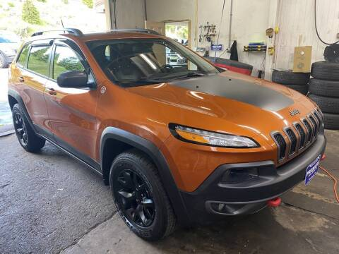 2016 Jeep Cherokee for sale at Premiere Auto Sales in Washington PA