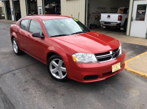 2013 Dodge Avenger for sale at TRI-STATE AUTO OUTLET CORP in Hokah MN