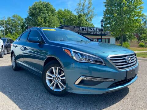 2015 Hyundai Sonata for sale at Rite Track Auto Sales in Canton MI