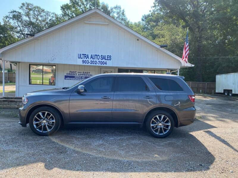 2015 Dodge Durango for sale at ULTRA AUTO SALES in Whitehouse TX