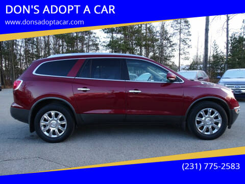 2011 Buick Enclave for sale at DON'S ADOPT A CAR in Cadillac MI