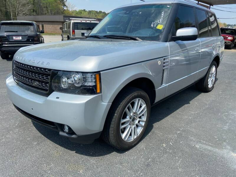 2012 Land Rover Range Rover for sale at Luxury Auto Innovations in Flowery Branch GA