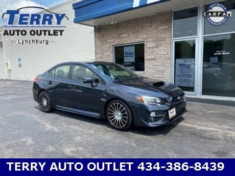 2016 Subaru WRX for sale at Terry Auto Outlet in Lynchburg VA