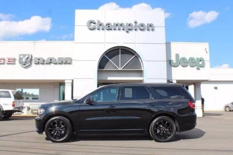 2020 Dodge Durango for sale at Champion Chevrolet in Athens AL