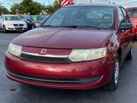 2004 Saturn Ion for sale at KD's Auto Sales in Pompano Beach FL