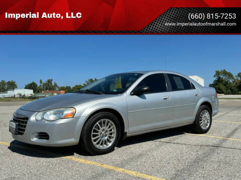 2004 Chrysler Sebring for sale at Imperial Auto, LLC in Marshall MO