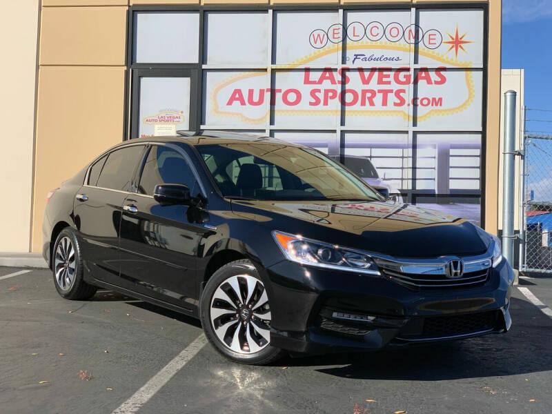 2017 Honda Accord Hybrid for sale at Las Vegas Auto Sports in Las Vegas NV