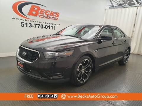 2015 Ford Taurus for sale at Becks Auto Group in Mason OH