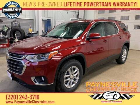 2021 Chevrolet Traverse for sale at Paynesville Chevrolet - Buick in Paynesville MN