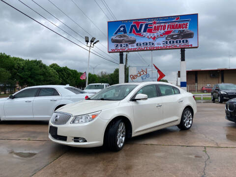 2012 Buick LaCrosse for sale at ANF AUTO FINANCE in Houston TX