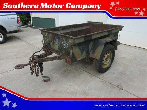 1962 Fayette  M416 Military Jeep Trailer for sale at Southern Motor Company in Lancaster SC