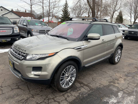 2012 Land Rover Range Rover Evoque for sale at PAPERLAND MOTORS in Green Bay WI