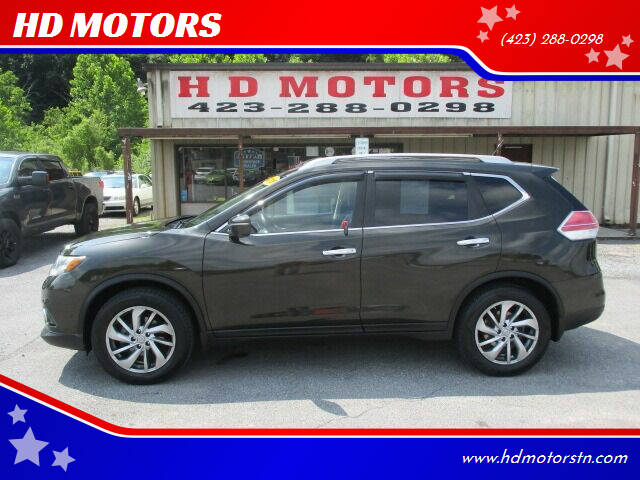 2015 Nissan Rogue for sale at HD MOTORS in Kingsport TN