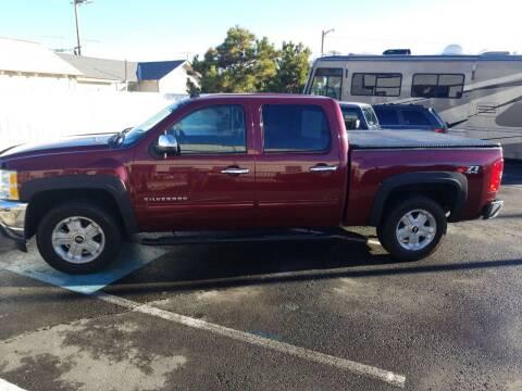 2013 Chevrolet Silverado 1500 for sale at Freds Auto Sales LLC in Carson City NV