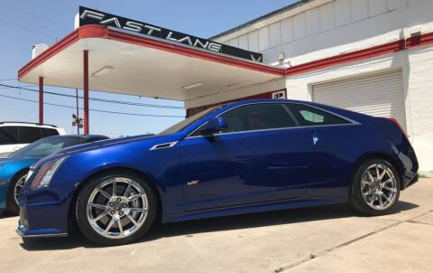 2012 Cadillac CTS-V for sale at FAST LANE AUTO SALES in San Antonio TX